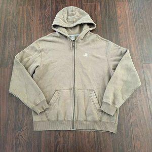 Nike Sportswear Mens Olive green Hoodie jacket XXL